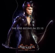 Catwoman end poster