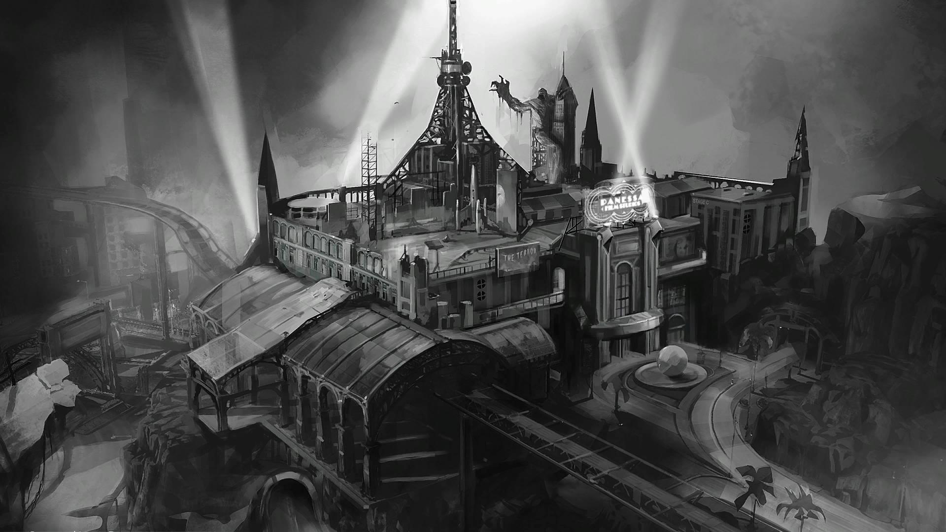 Image Bak Panessa Studios Conceptjpg Batman Arkham Wiki