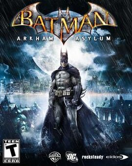 Batman Arkham Asylum cover