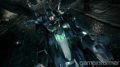 Batman Arkham Knight - Batmobile Catapult