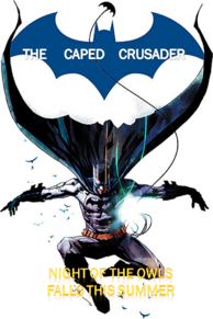 The Caped Crusader Poster 2