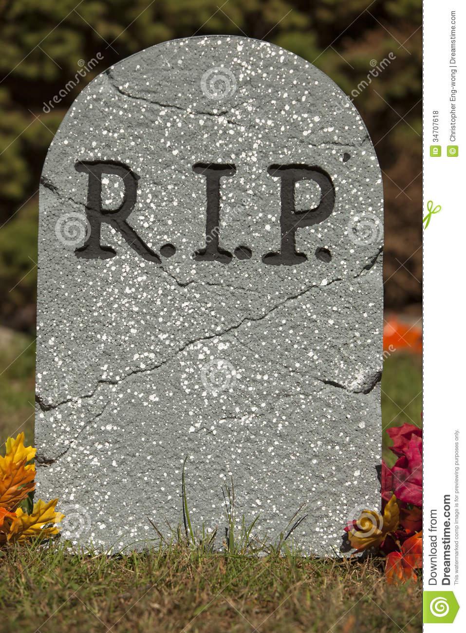 Best Image - R-i-p-grave-stone-halloween-decoration-34707618.jpg  WQ74