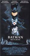 Batman Returns (1992) VHS Front Cover