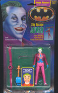 Batman (1989) The Dark Knight Collection Sky Escape Joker Action Figure
