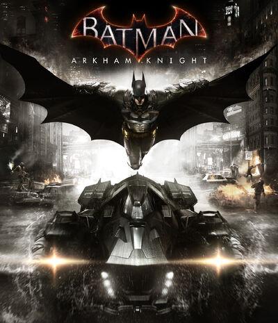 Batman Arkham Knight Cover