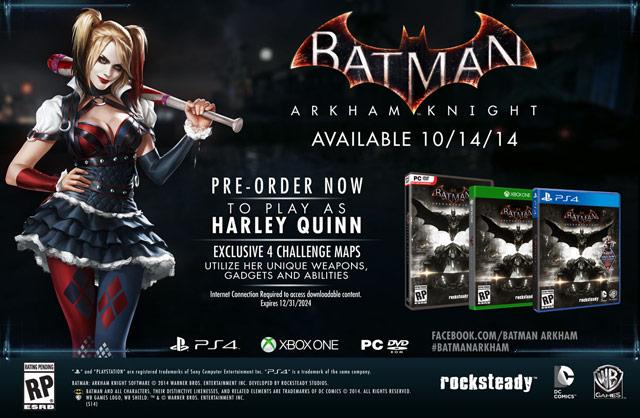 Batman Arkham Knight - Harley Playable