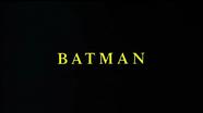 Batman (1989) Title