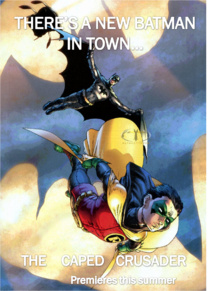 The Caped Crusader Poster 3