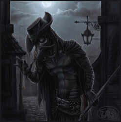 Steampunk plague doctor by cthulhu great-d61hv9y