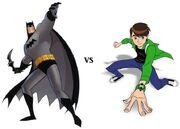 Batman vs Ben 10