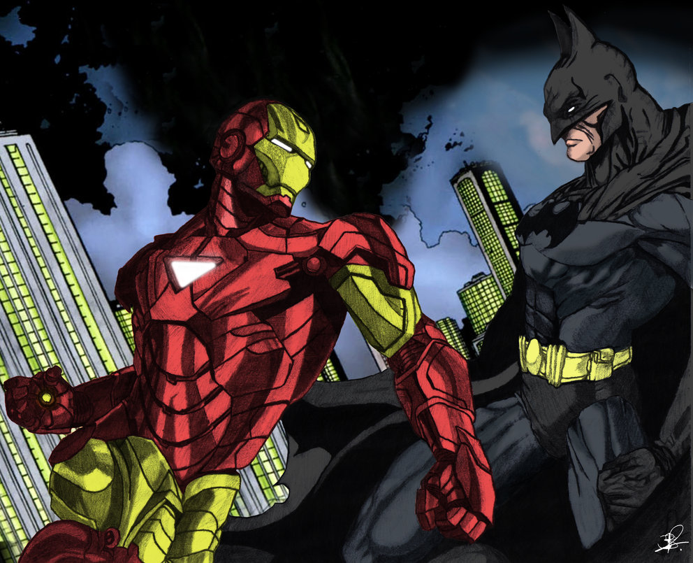 batman vs iron man | batman fanon wiki | fandom poweredwikia