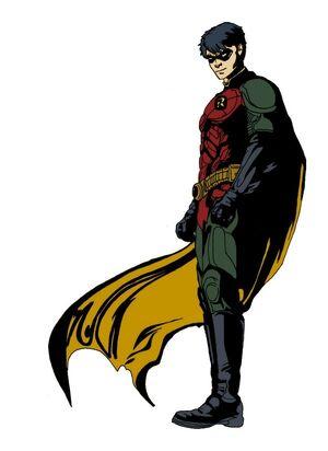 Robin the dark knight 2 by timdrakerobin