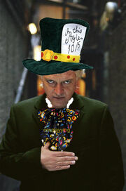 Rick Mayall as the Mad Hatter