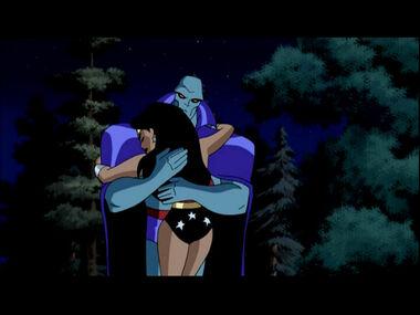 Martian Manhunter and Wonder Woman (Justice League)