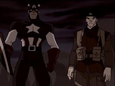 Captain America & Logan