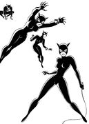 Catwoman Designs by Bruce Timm