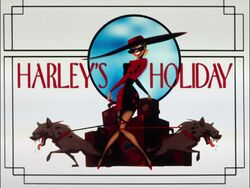 Harley's Holiday Title Card