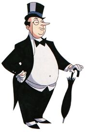 Penguin Design for TNBA by Bruce Timm