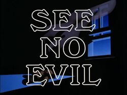 See No Evil Title Card