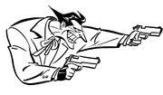 Early Joker Sketch by Bruce Timm