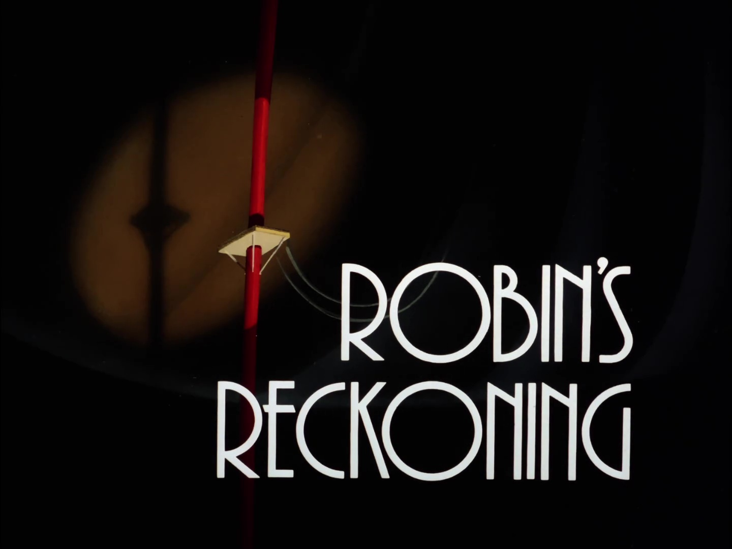 Image result for robin's reckoning title card