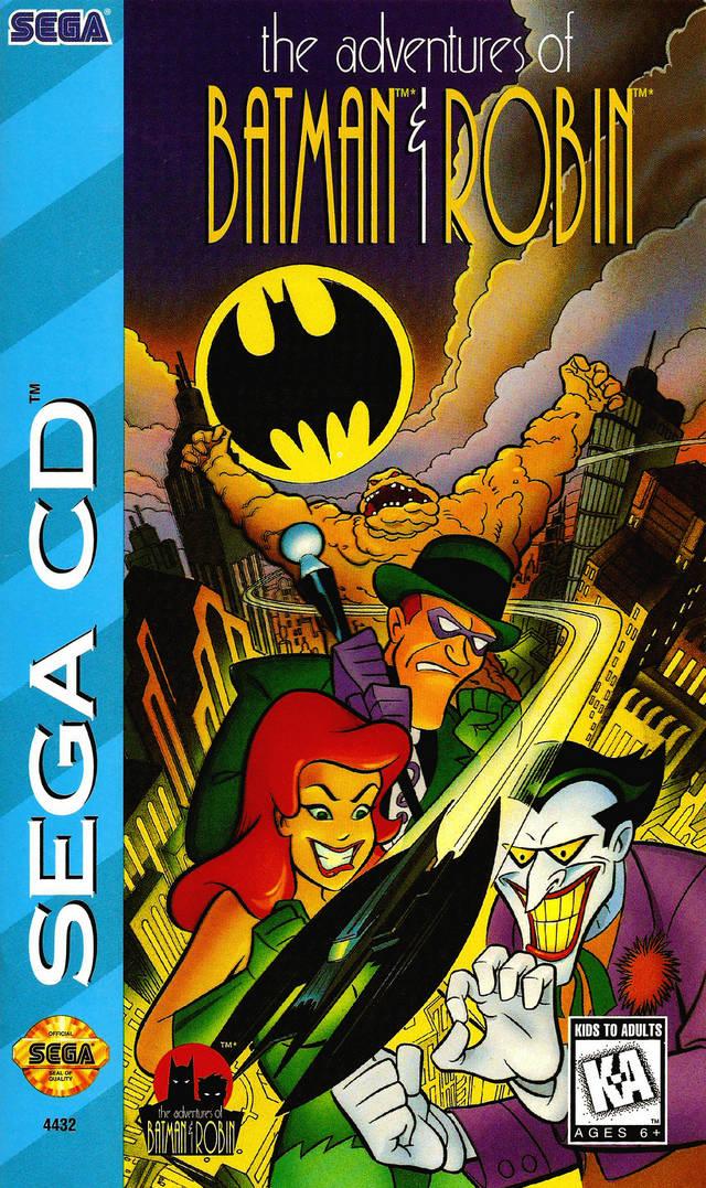 The Adventures Of Batman Amp Robin Sega Cd Batman The