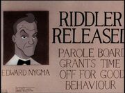 Riddler's Reform 01 - Riddler Released
