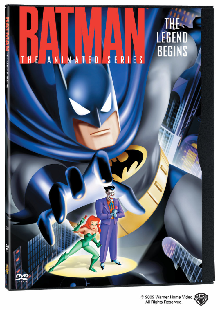 Batman The Legend Begins Dvd Batman The Animated