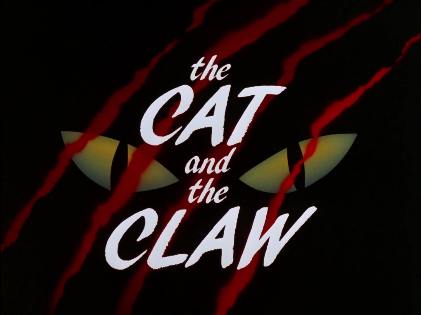 Image result for cat and the claw title card