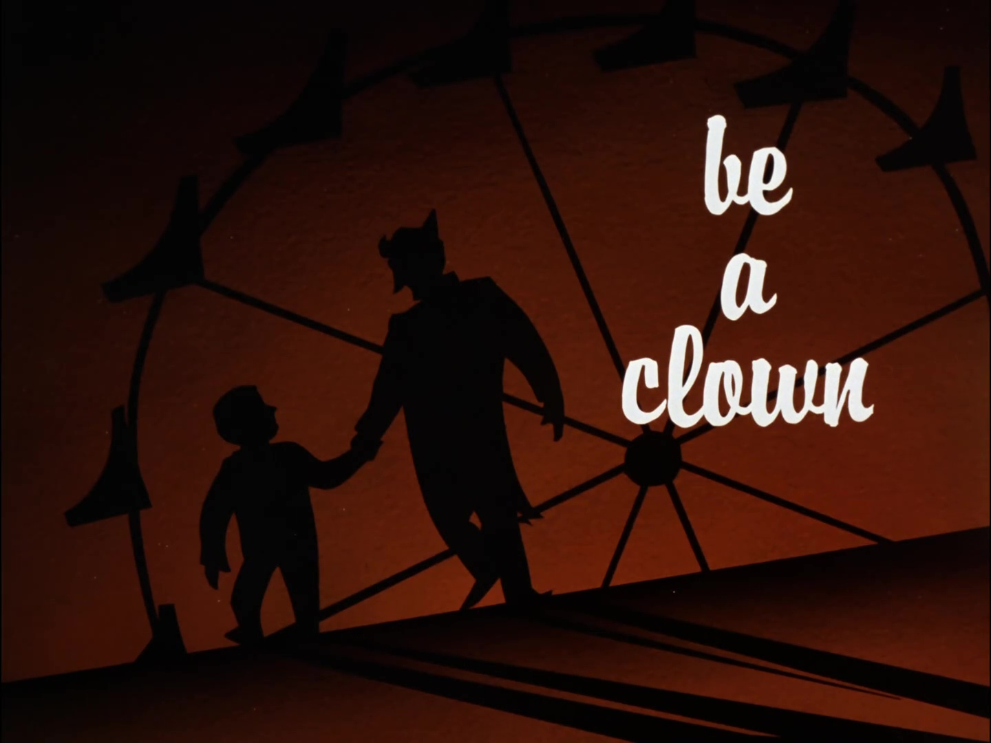 Image result for be a clown title card
