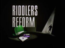 Riddler's Reform Title Card