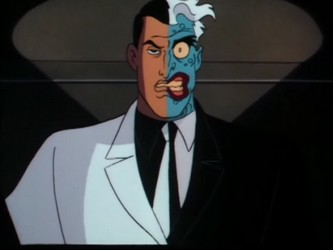 Image result for two face batman animated series