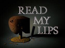 Read My Lips Title Card