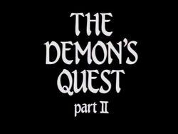 The Demon's Quest Title Card II