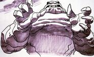 Clayface Design by Bruce Timm and Mike Goguen