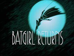Batgirl Returns Title Card