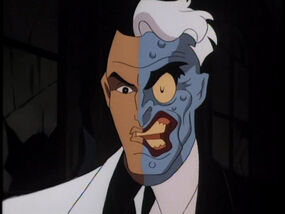 Two Face Batmanthe Animated Series Wiki Fandom Powered By Wikia