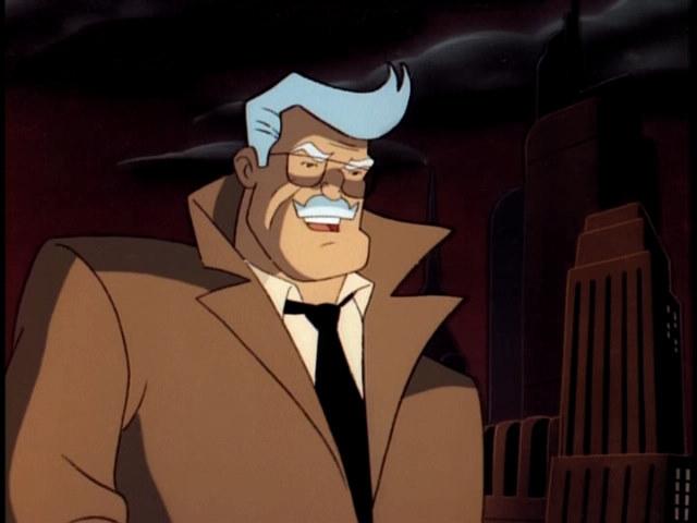 Commissioner Gordon Batman The Animated Series Wiki