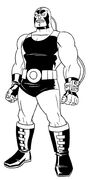 Bane Design by Bruce Timm