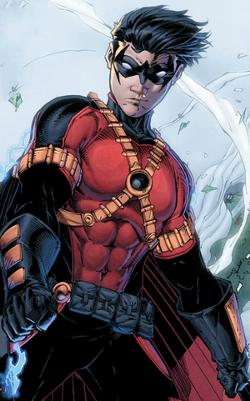 Tim Drake como Robin Vermelho