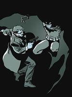 Jim Gordon e Batman em Ano Um