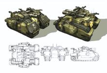 Frontier Battlestation (Concept Art)