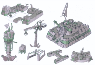 Iron Legion Facility buildings