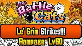 Le'Grim Strikes!!! Level 60, NO UBERS, NO HACKER (Battle Cats)