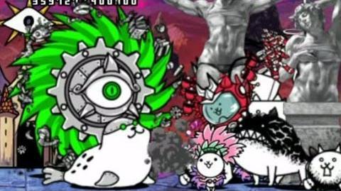 進撃の鉄屑 (Metal Cyclone Stage) and introduce Hoop Cat - played by Uriboten