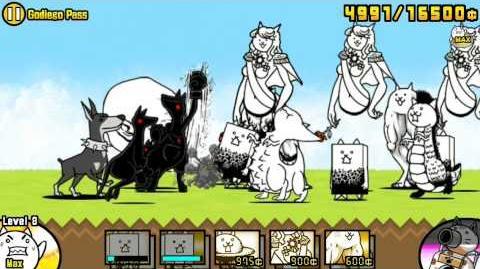 The Battle Cats - Godiego Pass - Played by Nurse Wuffa