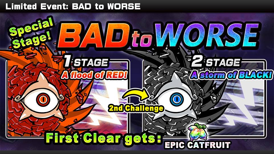 Bad To Worse The Battle Cats