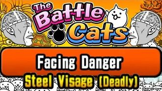 Farming Silver Tickets Facing Danger – Steel Visage (Deadly) Battle Cats