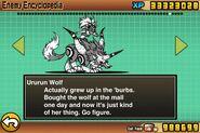 Ururun and wolf en