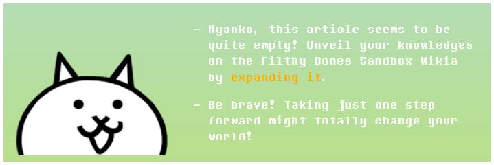 user blog filthybones stub 2 0 template battle cats wiki fandom